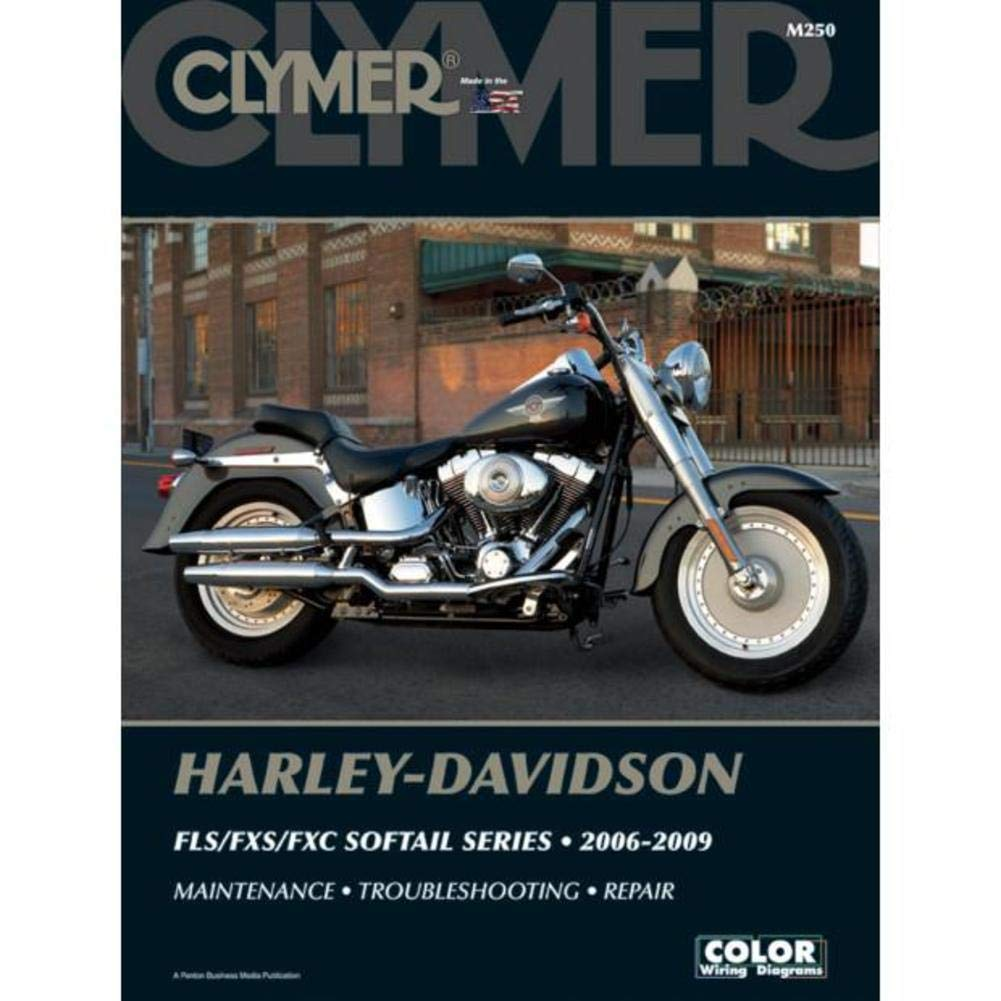Amazon.com: Clymer Harley-Davidson Softail FLS/FXS/FXC Models (2006-2009)  (53037): Automotive
