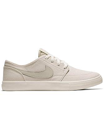 size 40 5050f 2c419 Nike SB Portmore II Women's Skate Shoes Desert Sand/Desert Sand -Ivory (9