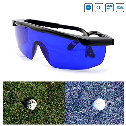 Feisuo Feisou Golf Ball Finder Professional Lenses Glasses with Mould Case Eyeglass Cords Lens Less Straining Sunglasses Goggles