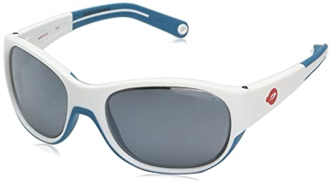 b548d4c36b3e Image Unavailable. Image not available for. Color: Julbo Luky Junior  Sunglasses - Spectron 3+ - White/Blue