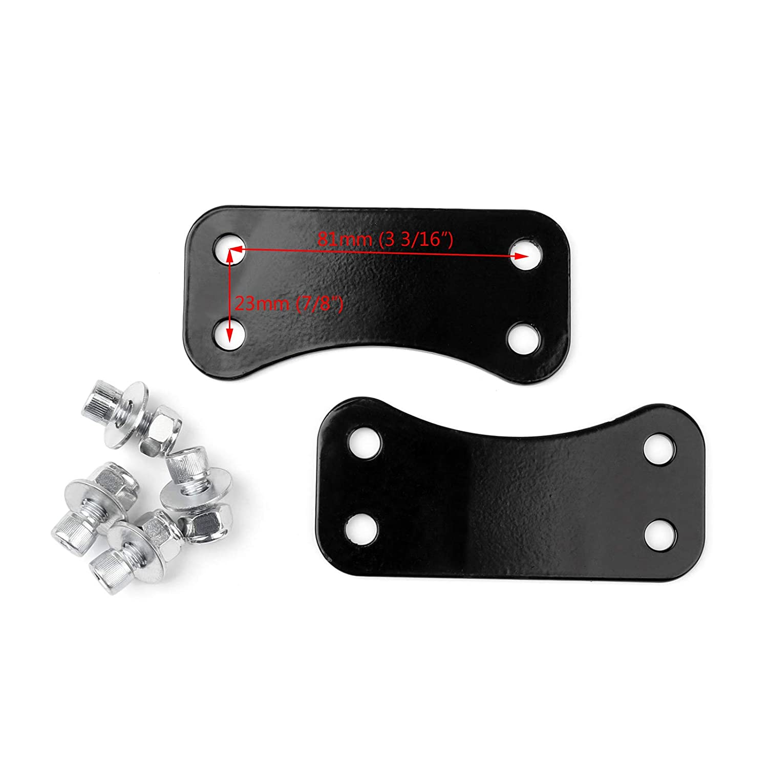 Artudatech Steel Front Fender Lift Brackets Adapters For 21 Wheel Harley Touring 2014-2017
