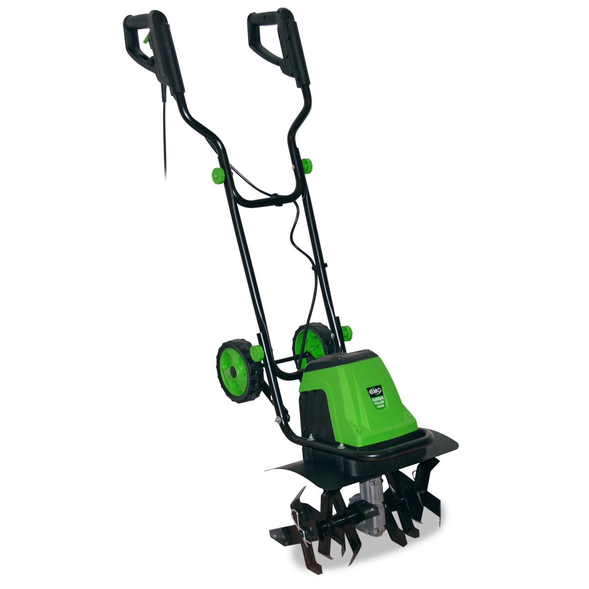 electric garden tiller. BMC From WOLF 1400 Watt, 400mm Electric Portable Garden Tiller Cultivator Rotavator Plus FREE 14 Metre Heavy Duty 1.5mm 3 Core Extension Power Cable Worth T
