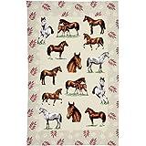 Ulster Weavers Horses Linen Tea Towel