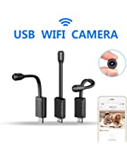 Smallest WiFi Spy Camera Hidden, Rettru Mini HD Surveillance Camera Portable IP Wireless Home Security Nanny Kid Camera with Motion Detection, Cloud Storage, Live Remote Monitoring for iOS/Android Mobile Phone, Window Pc