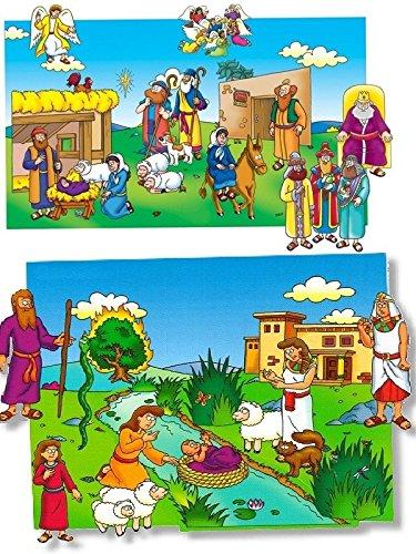 The Beginners Bible In Felt Combo Set Figures Flannel