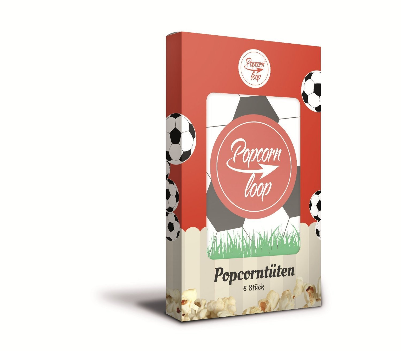 Popcornloop Edición especial Set Limitado,sólo un poco en la acción que consiste en 1x popcornloop Batidor con campana Original,1x Gorra de futbol,1x ...