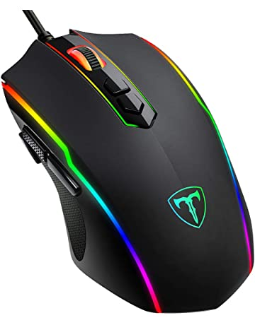 93e238a03e6 PICTEK Gaming Mouse Wired, 8 Programmable Buttons, Chroma RGB Backlit, 7200  DPI Adjustable