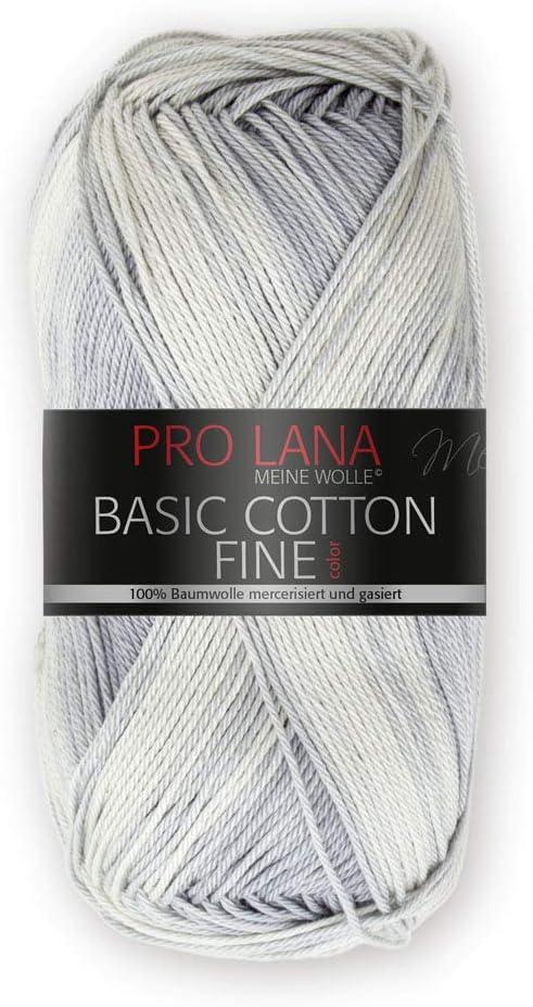 algodón lana libre elección de color Lana Grossa benesserekettgarn 50 G