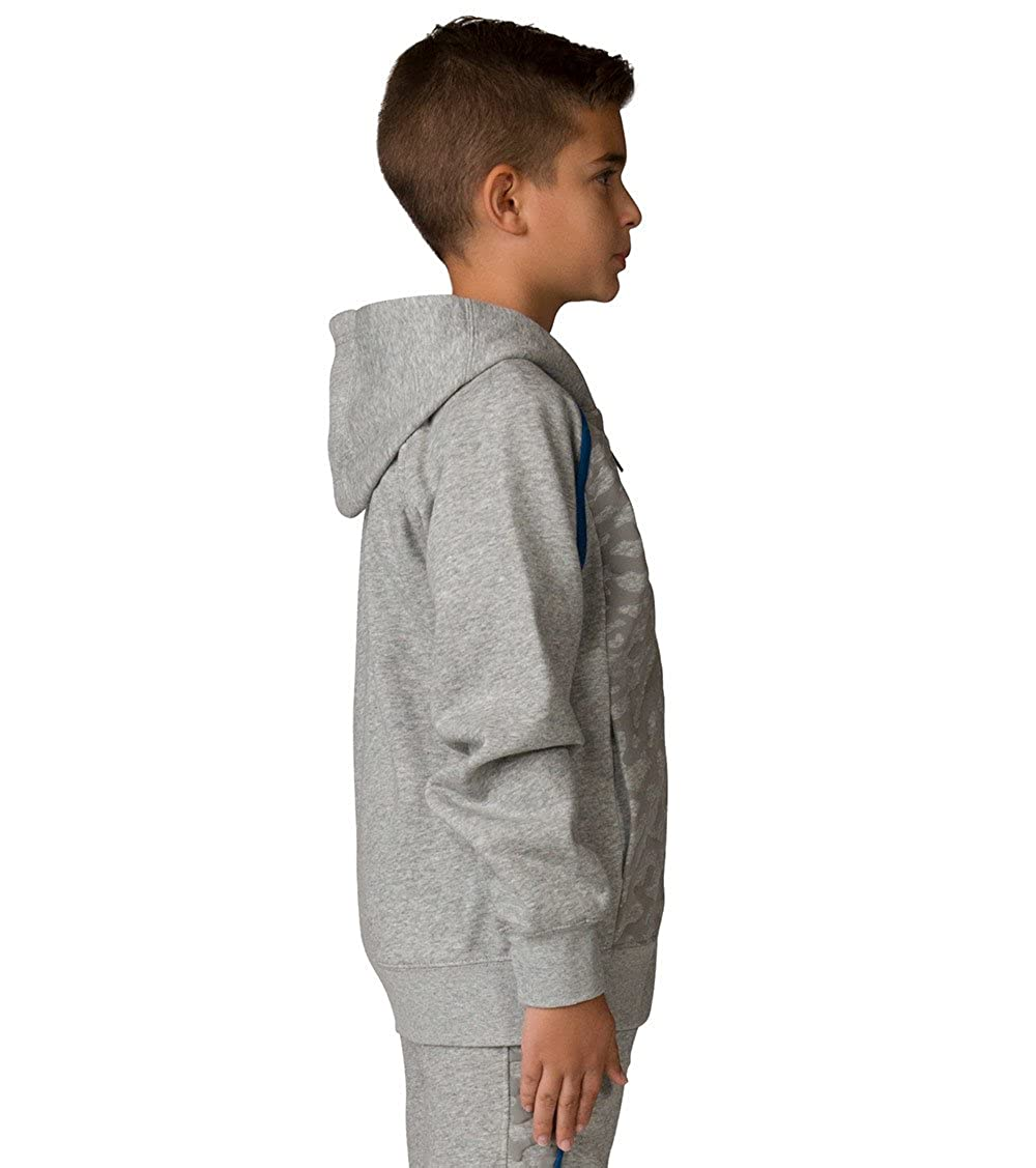 Jordan Nike Boys Grade School Air 3 Sweater Face Full Zip Hoodie