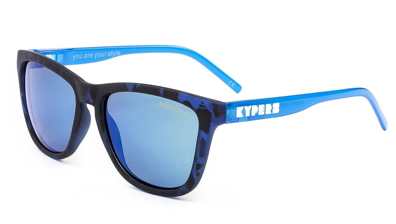 KYPERS Caipirinha Gafas de Sol, Havanna Ice Blue Mirror, 54 Unisex