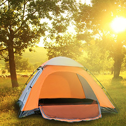 "ICorer Waterproof Lightweight Family Backpacking Camping 2-3 PersonTent, 78.7"" x 78.7"" x 51"""