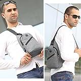 Sling Bag with USB Charging Port & Headphone