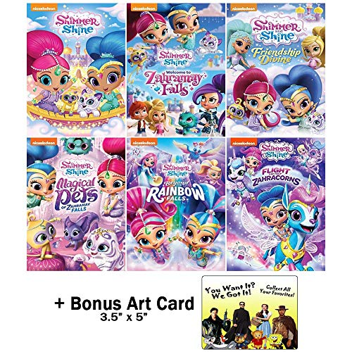Shimmer and Shine: Nickelodeon TV Series DVD Collection - 40 Episodes + Bonus Art Card (Shimmer And Shine Welcome To Zahramay Falls)