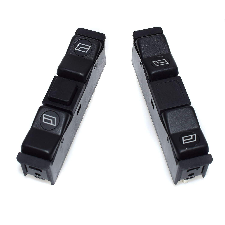 L/ève-vitre Interrupteur poussoir avant gauche /& droit 0008208110/Nouveau pour Benz Classe S 190/W201/CLASSE S Coupe C126/TROIS-CORPS W123