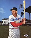 Stan Musial Autographed Signature 8x10 Photo Mint St. Louis Cardinals PSA/DNAHall of Fame Autographed Signature - Authentic MLB Autograph