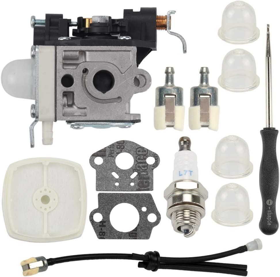 PB250 Carburetor for Echo PB250LN ES250 PB-250 PB-250LN ES-250 Leaf Blower RB-K106 with Air Filter Fuel Line Carb Adjustment Tool