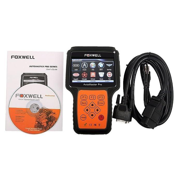 Foxwell nt644 Automaster pro todas las marcas todos los sistemas + EPB + Oil Service Scanner Auto lector de código de diagnóstico Código escáner herramienta ...