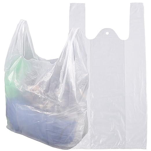 100/200 bolsas de plástico con asas bolsita funda Pochette ...