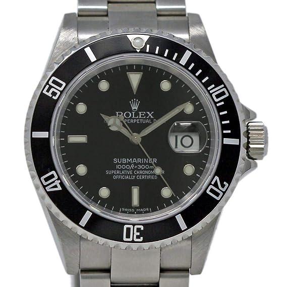 Rolex Submariner swiss-automatic Mens Reloj 16610 (Certificado) de segunda mano