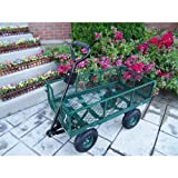 Cheap Oakland Living Utility Metal Garden Cart with 500 pound capacity