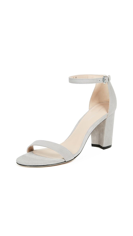 Stuart Weitzman Women's Nearlynude Heeled Sandal B0788CBJ5J 10 B(M) US Gris