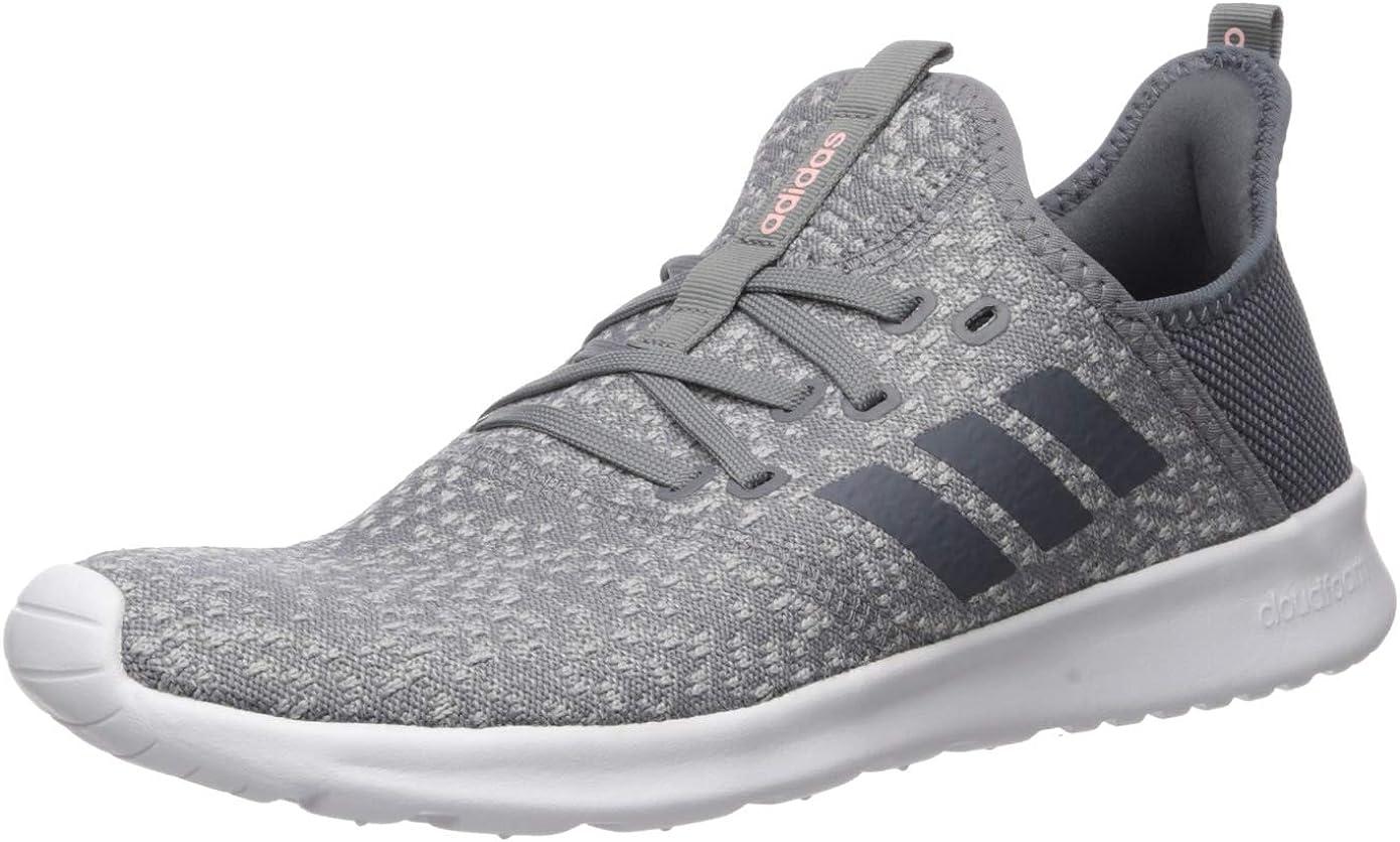 adidas Cloudfoam Pure, Chaussure d'athlétisme Femme, Gris