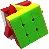 FC MXBB Stickerless Cube 3x3 Speed Cube Magic Cube Smooth Cube 56mm; Twisty Toys IQ Toys Brain Teasers ABS for Kids