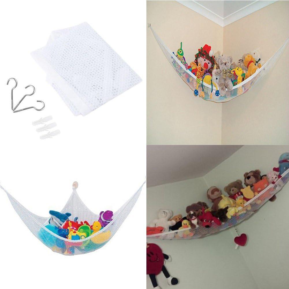 Ultralight Large Storage Net for Children Toys Kids Toys Storage Hammock nakw88 Toys Hammock