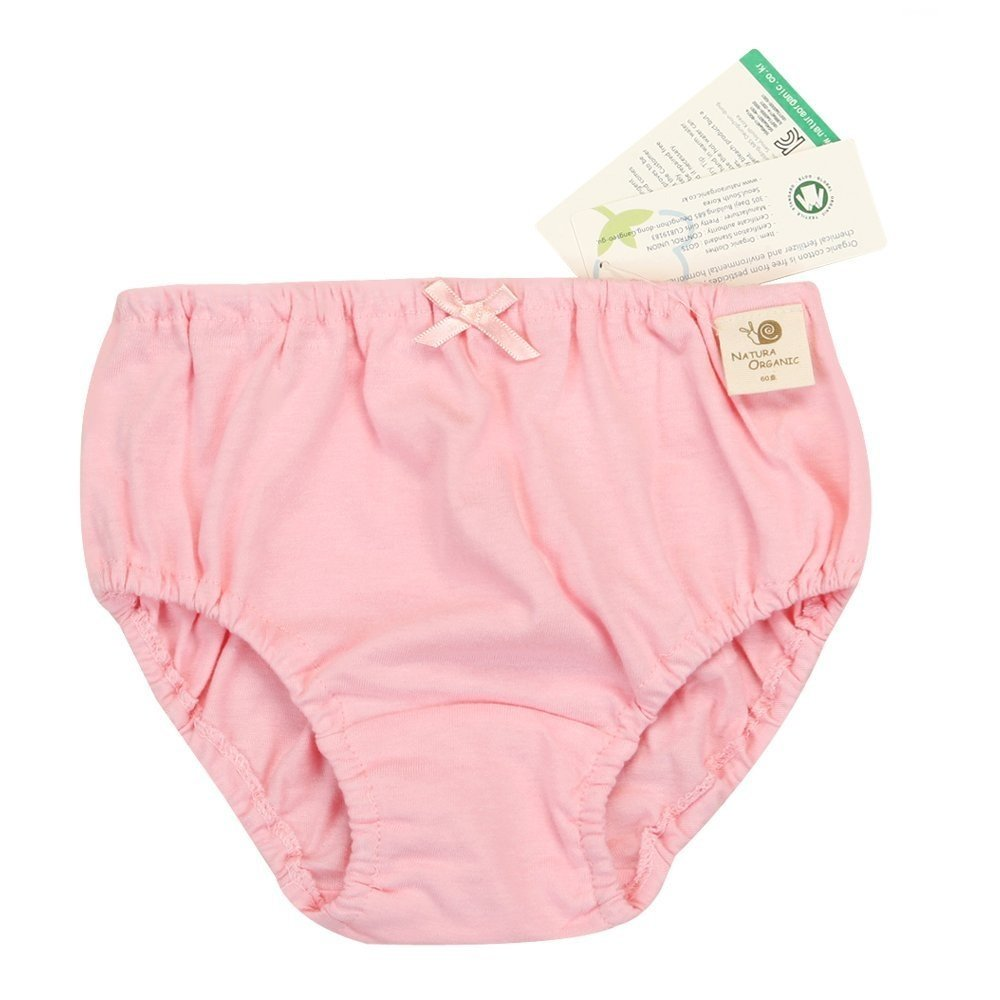 Babiesnature Organic Cotton Brief Panties Girls Boys (2 PK Underwear)