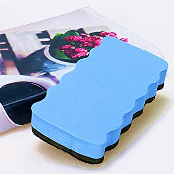 FACILLA/® Magnetic White Board Dry Wipe Drywipe Cleaner Eraser