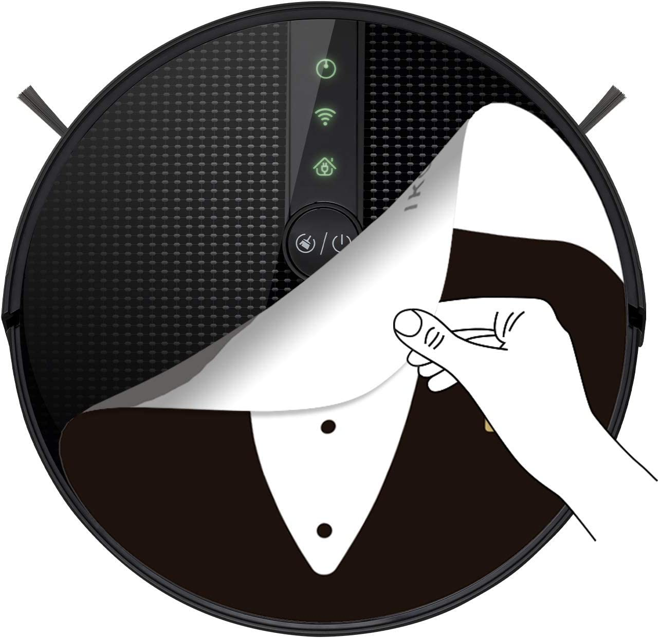 navigazione intelligente con mappatura e app alfred potenza di aspirazione 1800 Pa Robot aspirapolvere 4 in 1 sensori anti-collisione e anti-caduta IKOHS NETBOT S18