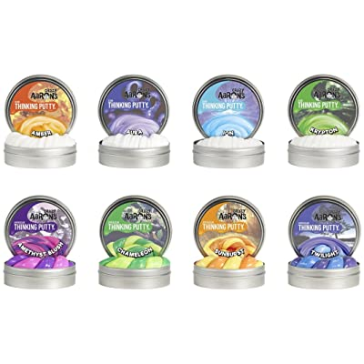 Crazy Aaron's Thinking Putty Mini Tin Complete Bundle Gift Set - 8 Pack: Toys & Games
