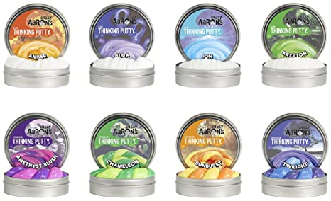 Crazy Aaron S Thinking Putty Mini Tin Complete Bundle Gift Set 8 Pack