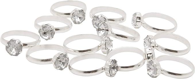 12 Engagement Ring Straws Black Silver Engagement Ring Straws Black Silver Bachelorette Bachelorette Straws Engagement Straws Bridal Shower