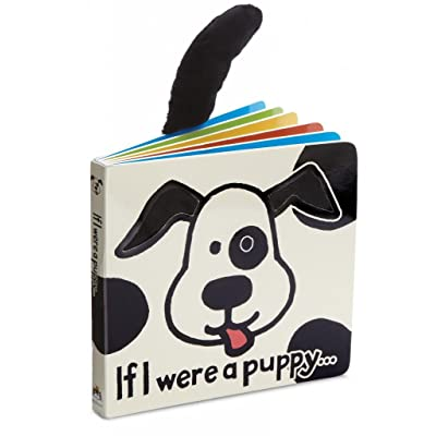 Jellycat Baby Touch and Feel Board Books, If I were a Puppy : Baby