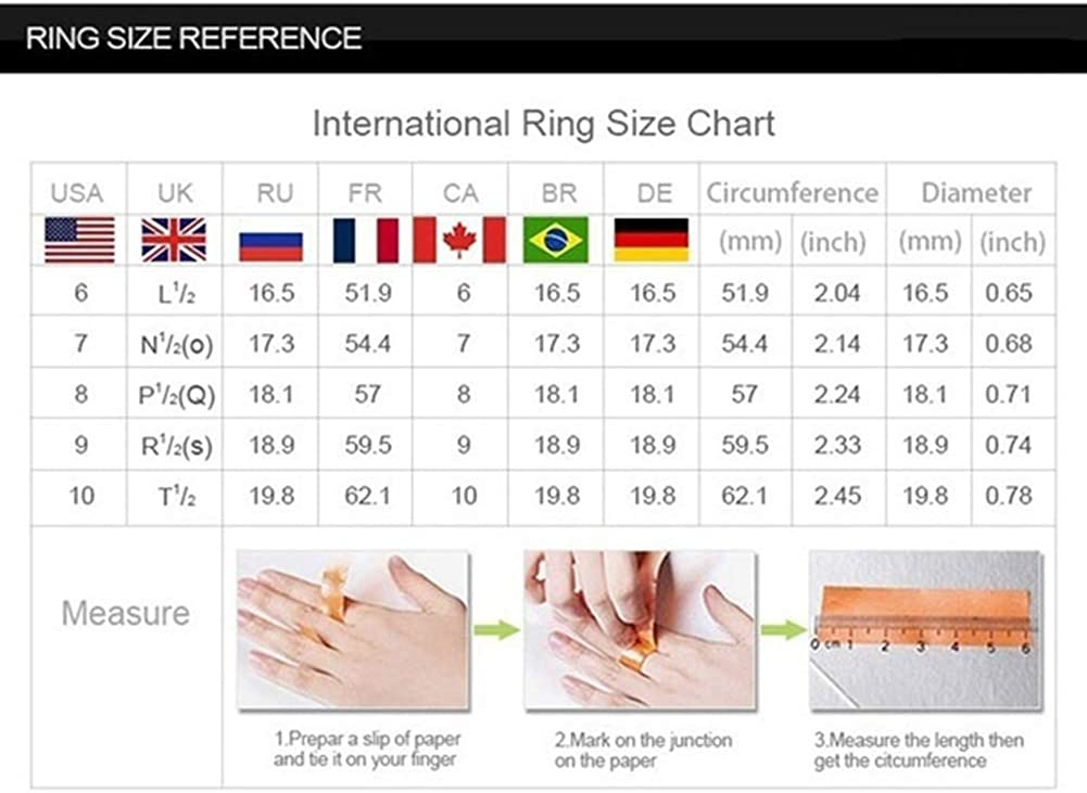 shiYsRL Exquisite Jewelry Ring Love Rings 2Pcs//Set Luxury Rhinestone Inlaid Wedding Engagement Couple Ring Jewelry Gift Wedding Band Best Gifts for Love with Valentines Day