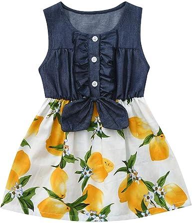 Berimaterry Falda niña Vestido de Princesa de bebé Niñas Vestido ...