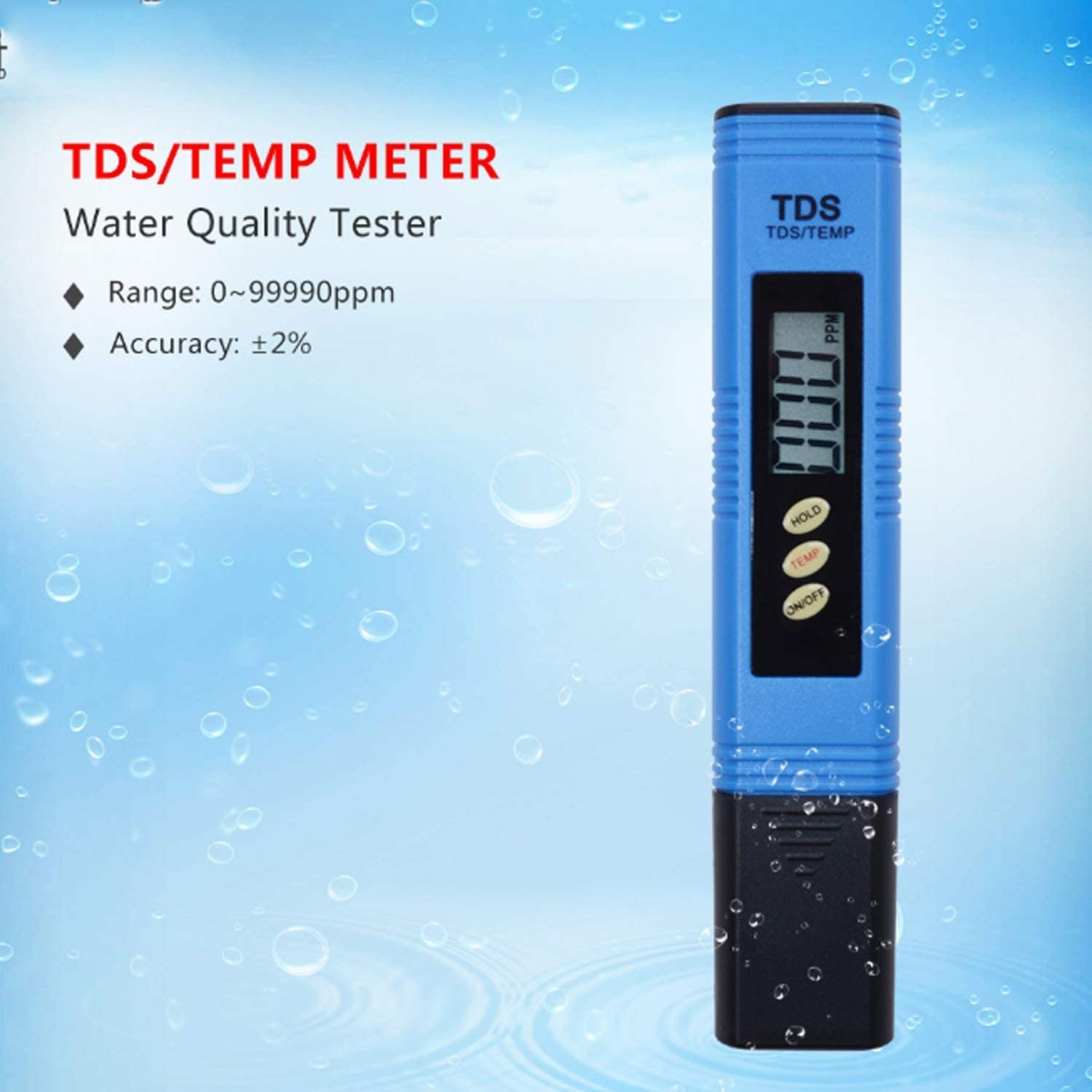 Superior Quality TDS Tester Portable LCD Digital Water Test Pen Ppm Tester For Aquarium Swimming Pool Water Wine Urine