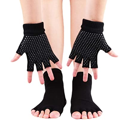 Hankyky Yoga Woman Socks Guantes Combos, Calcetines ...