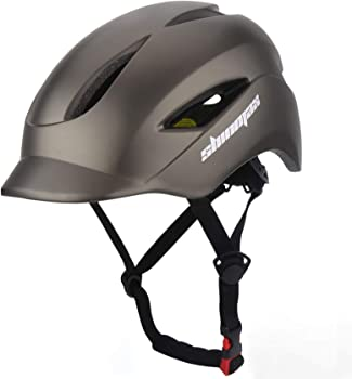 Shinmax Bicycle Helmet Cpsc & Ce Certified with Led Rear Light