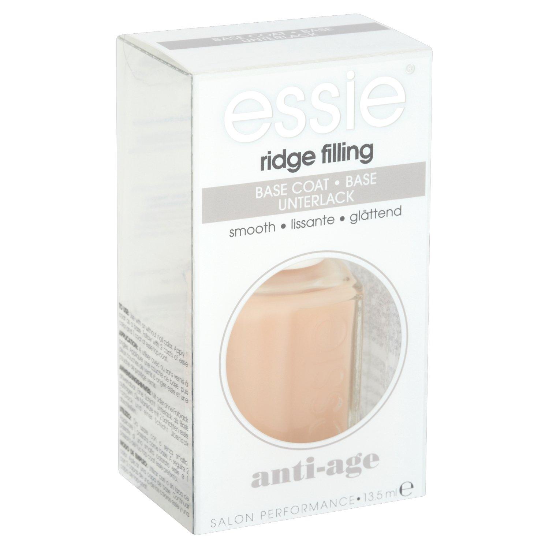 essie Unterlack ridge filling / Schützender Base Coat für flache, ebenmäßige Nägel, füllt Rillen auf, Anti Aging für die Nägel, 1 x 13,5 ml füllt Rillen auf B2255902