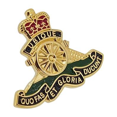 88a9a4a5e8fc British Military Store Royal Artillery Lapel Badge: Amazon.co.uk: Jewellery