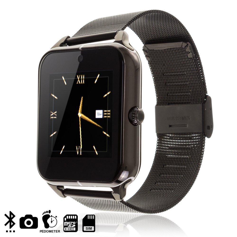DAM DMT180 - Smartwatch Z50 con Correa metálica y de Piel ...