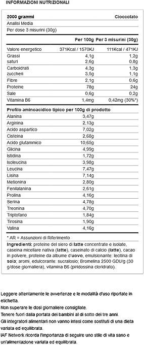 Yamamoto Nutrition Hiro Blend Suplemento Alimenticio, Chocolate - 2000 gr