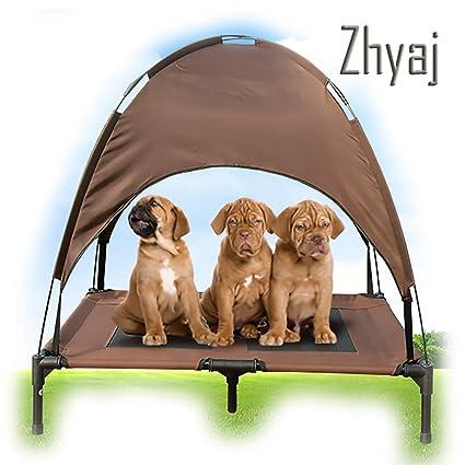 Zhyaj Carpa para Perros Casa Perro Grande Wahsable Camas ...