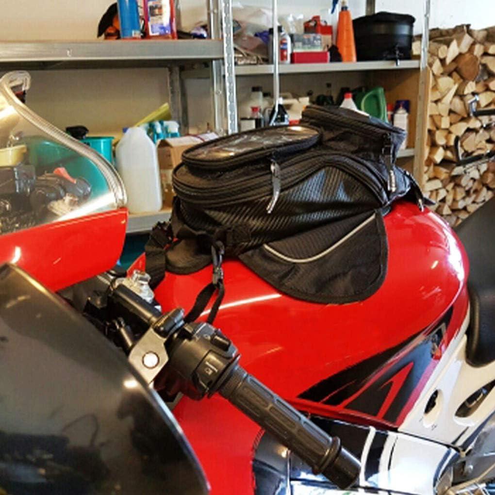 Pegcduu 16.6x10.5cm Universal-Magnet Motorrad-Fahrrad-Oil Fuel Tank Tasche wasserdichte Taschen Saddlebag