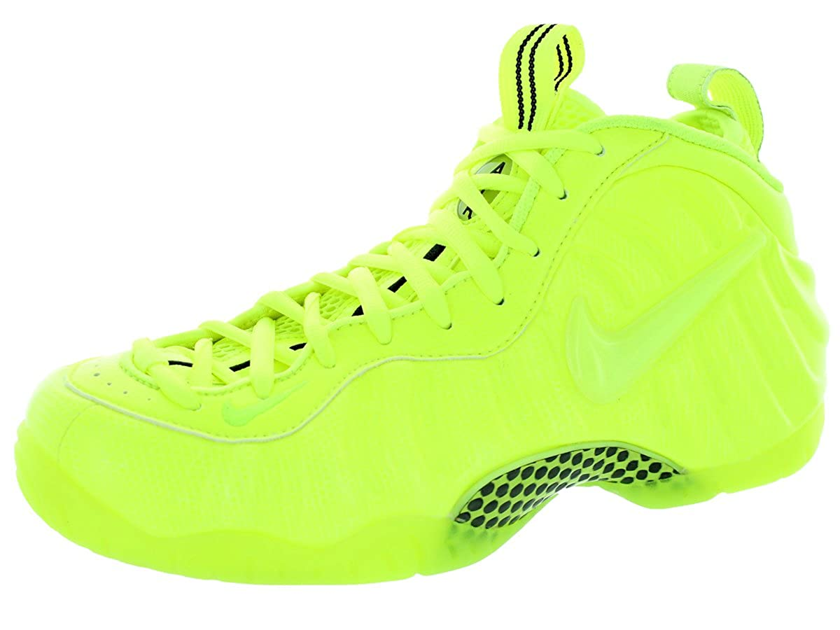 official photos 35390 b1853 Nike Men's Air Foamposite Pro Volt/Volt/Black Basketball Shoe 9 Men US
