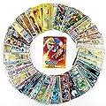 Villhome 100 Pokemon Gx Card, 100 Pokemon Gx Card for Kids, Rares Foils, Best Pokemon Gx Card Lot for 2018