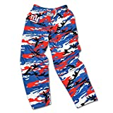 : Zubaz Men's Officially Licensed NFL Camo Print Team Logo Casual Active Pants