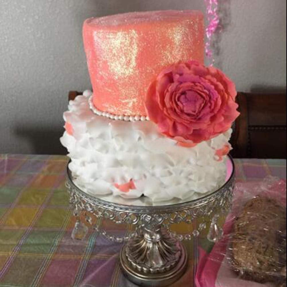 Red KALAIEN 5-Piece Peony Fondant Cutters Set Sugarcraft Modeling Tools Kit for Cake Decoration